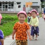 6月のお茶会と1歳児さんの散歩とお茶会初参加とたけちゃんの紙芝居