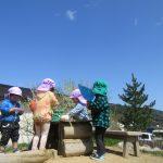 2歳児 園庭遊び