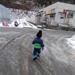 雪の道のお散歩♪・・・・・⛄