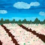 チューリップ畑を再現