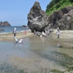 「青い海~!三瀬海岸に行ってきました。」
