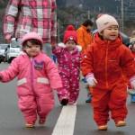1歳児さん散歩♪