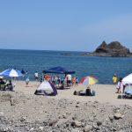 ☀三瀬海水浴場へ