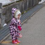 0歳児さんの散歩