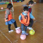 初めてのサッカー教室